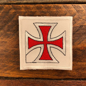 Sew-on Patch - Crusader's Cross