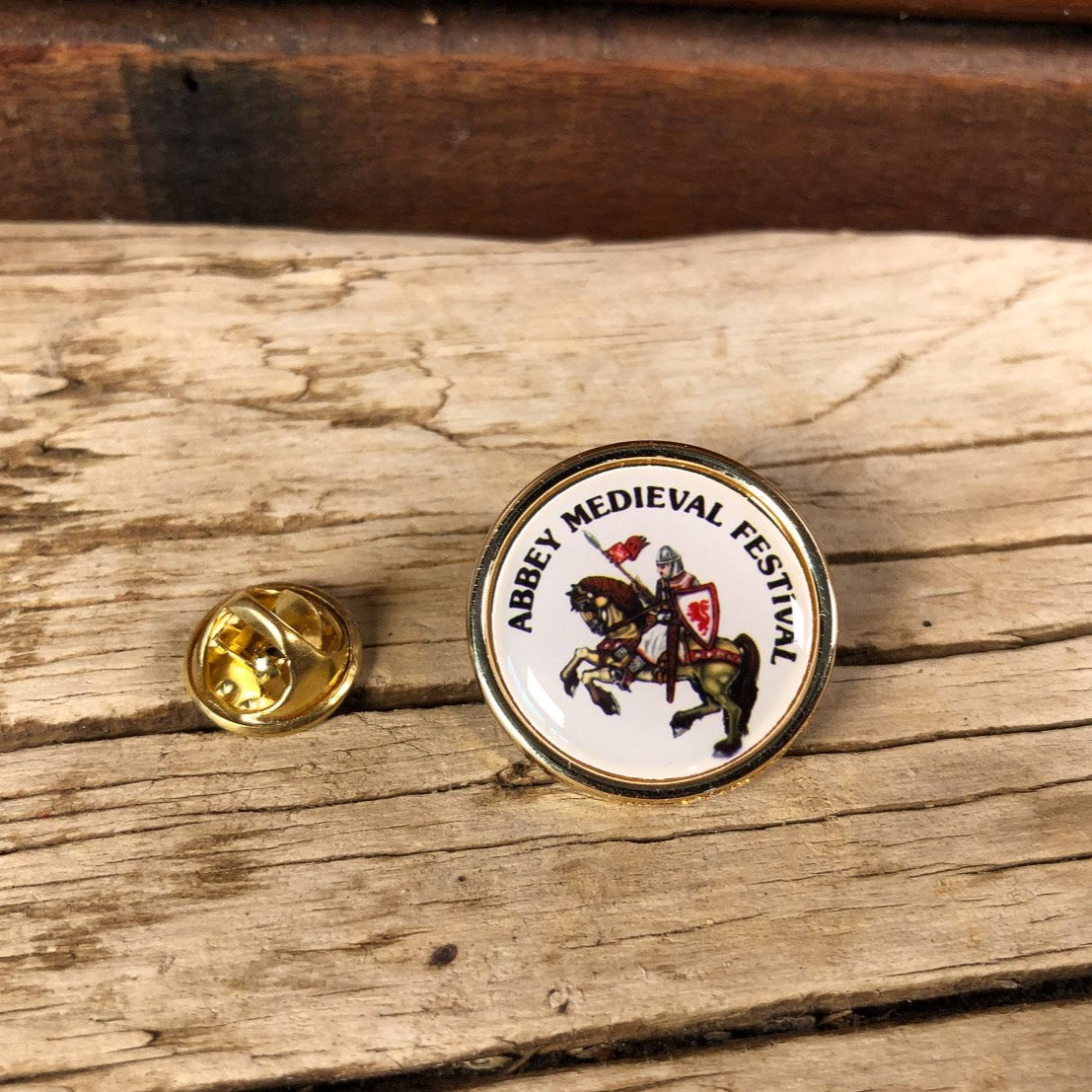 Abbey Medieval Festival Pin
