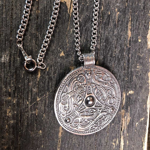 Viking Shield Pendant