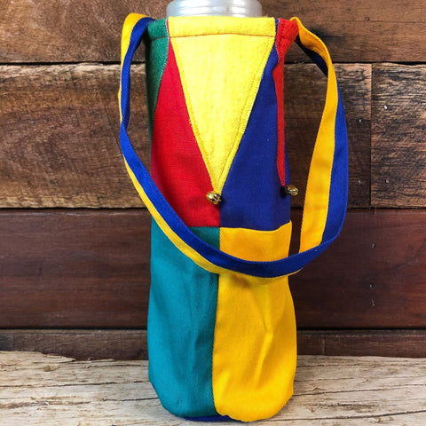 Water Bottle Tote - Court Jester