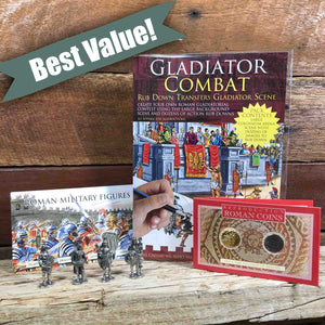 Ancient Rome Kids Gift Pack