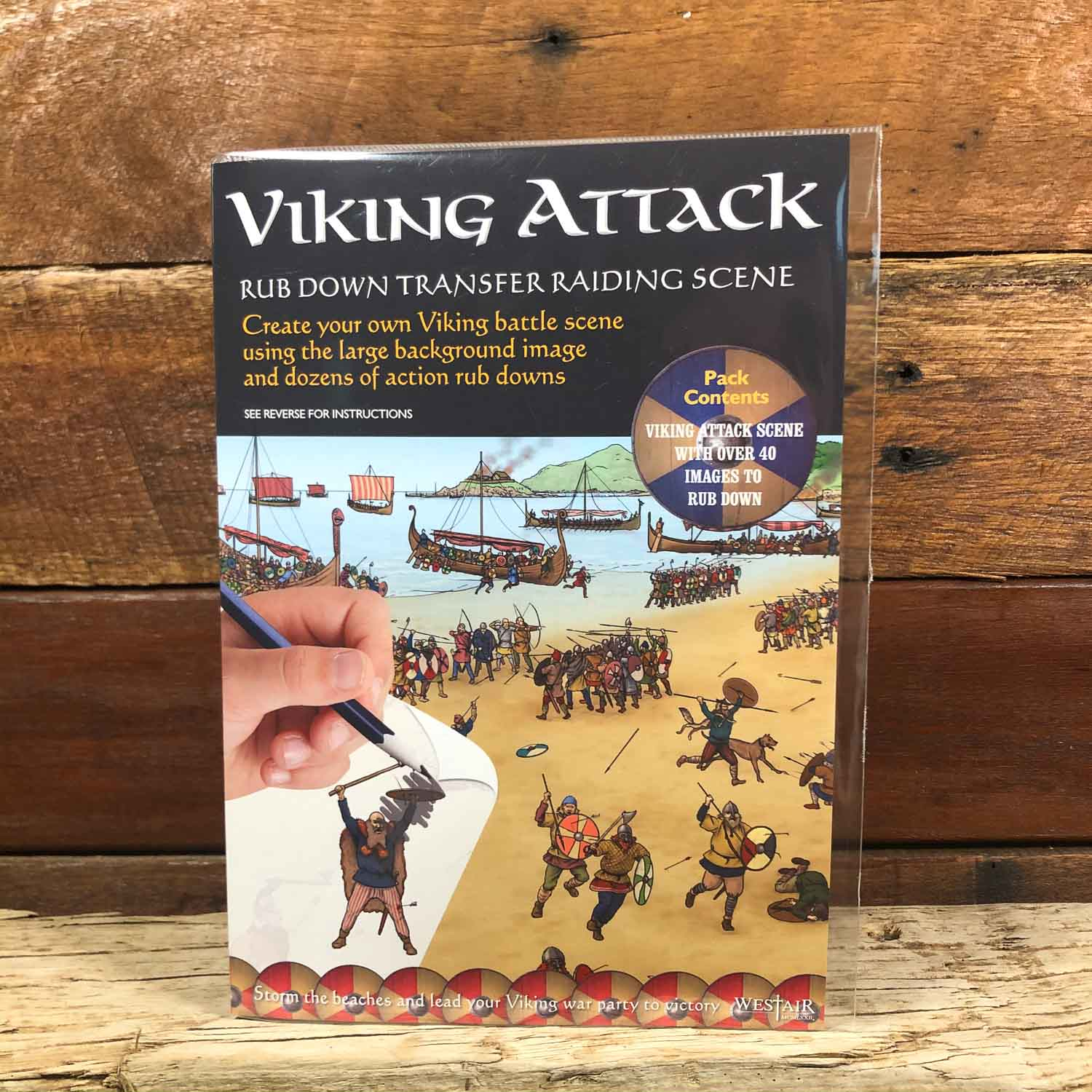 Viking Attack Rubbing Transfer Activity