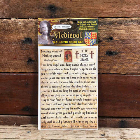 Medieval Magnetic Word Kit