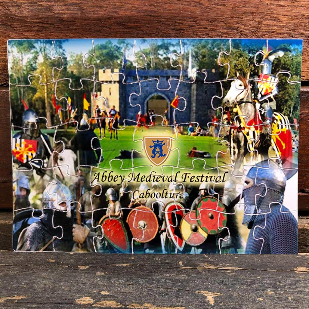 Abbey Medieval Festival Magnetic Puzzle