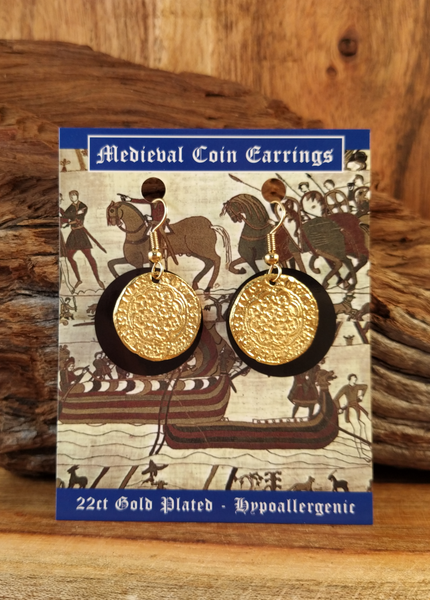 Medieval Coin Earrings