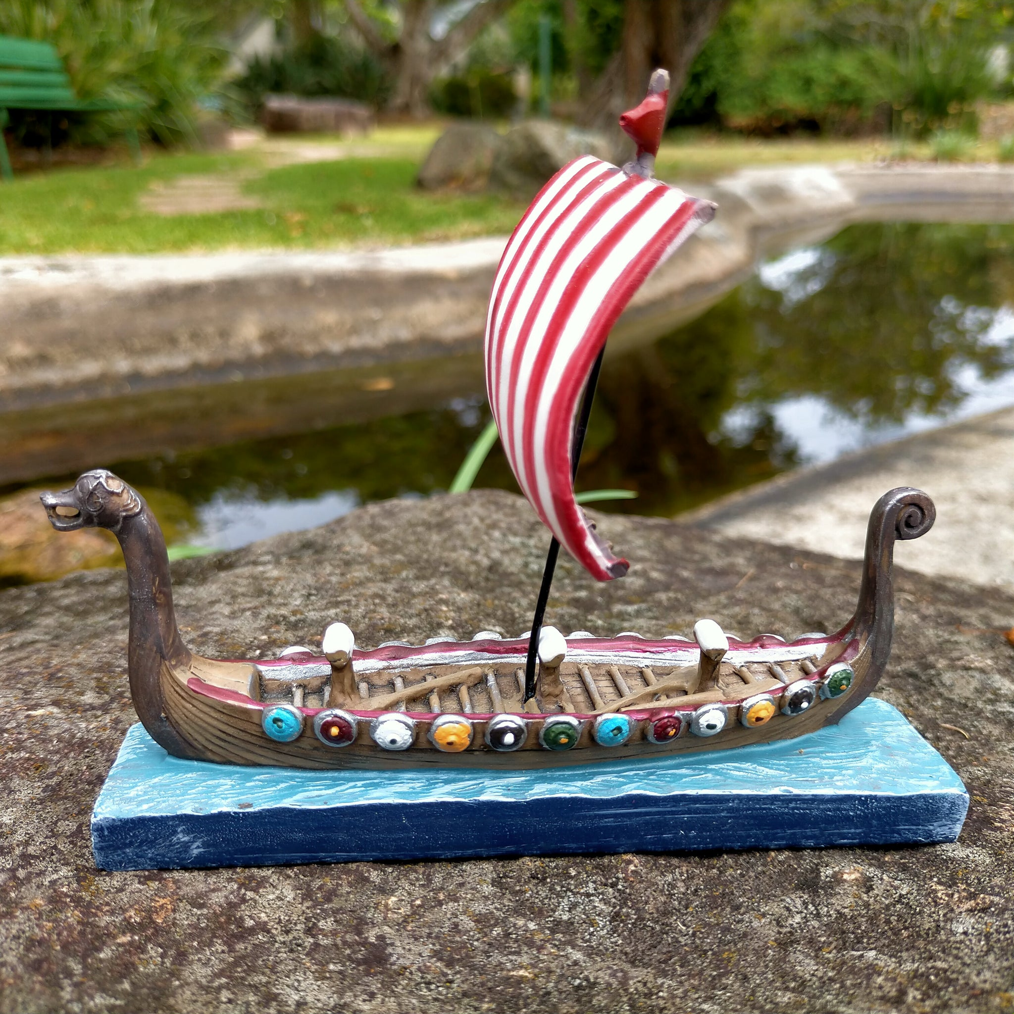 Viking Ship Model