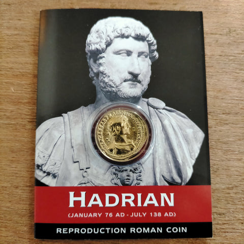 Hadrian Aureus Repoduction Coin pack