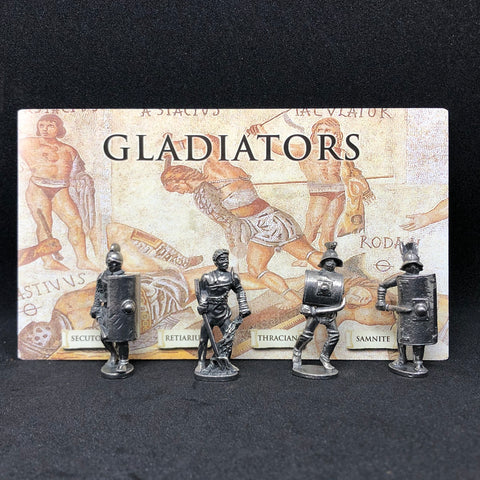 Ancient Gladiator Figurines