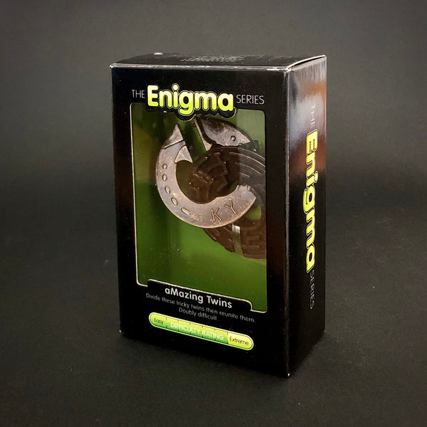 Enigma aMazing Twins Brain Teaser Puzzle
