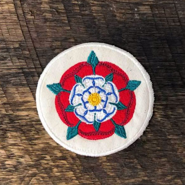 Sew-on Patch - Tudor Rose