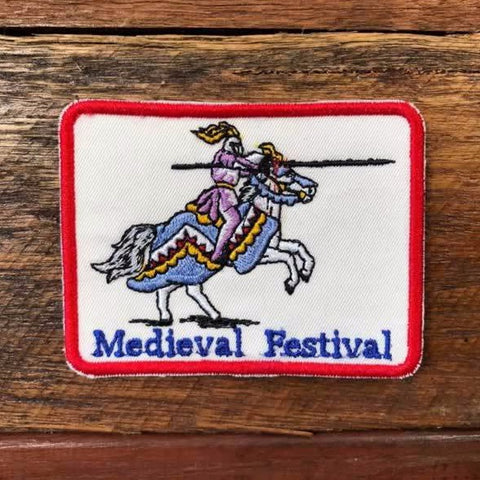 Sew-on Patch - Abbey Medieval Festival Joust