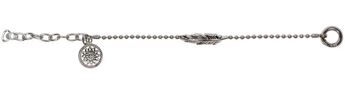 Dreamcatcher Armband Feather Steel TFB03SS