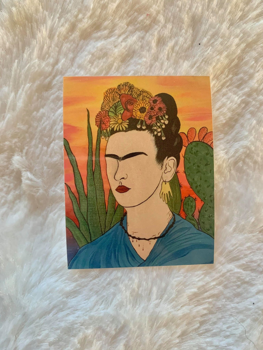 """Frida's Nopales"" Stickers"