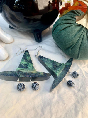 Crazy Eyed Witch Earrings