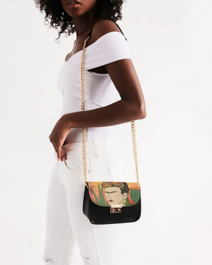 """Frida's Nopales"" Small Shoulder Bag"