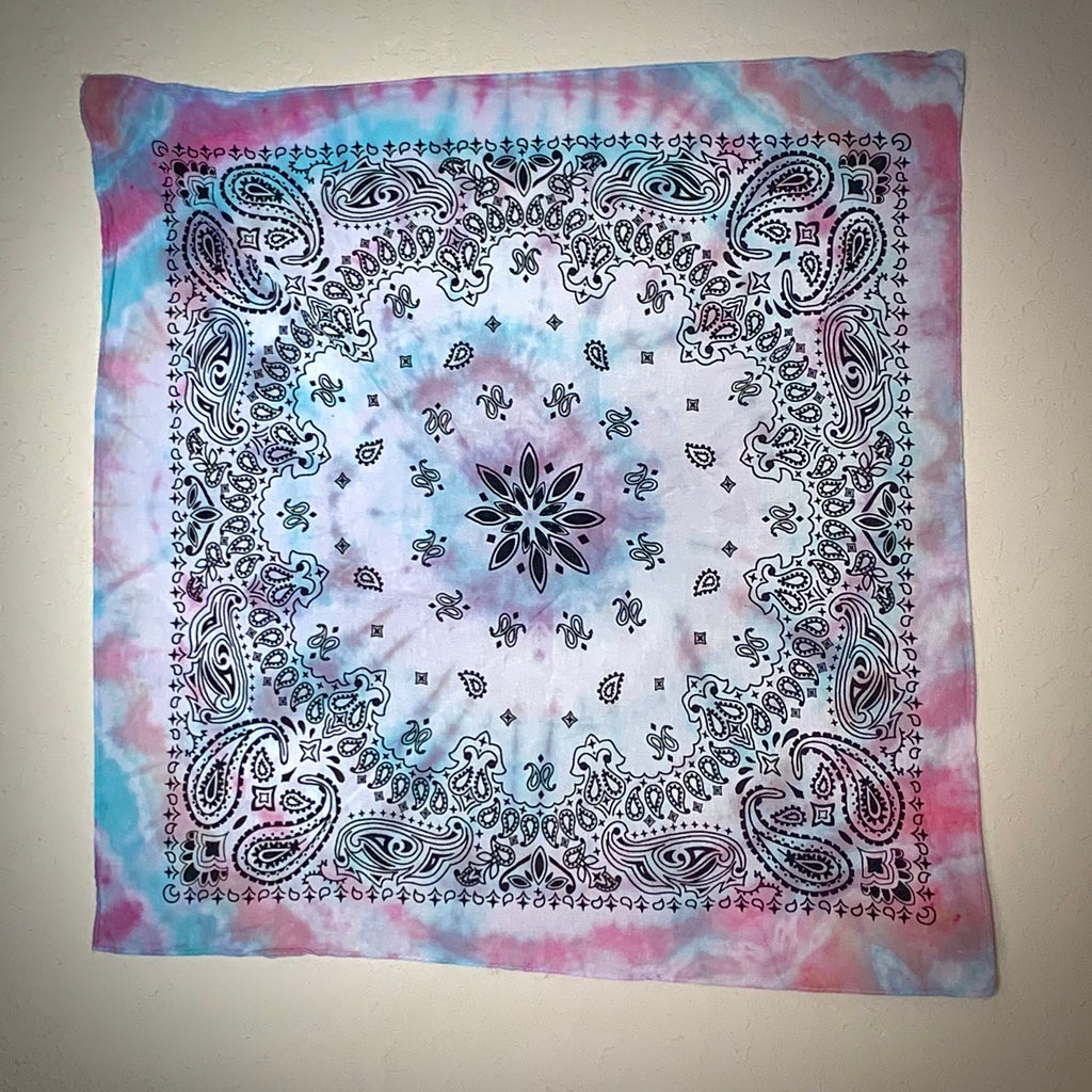 """Cotton Candy Love"" Tie Dyed Bandana"