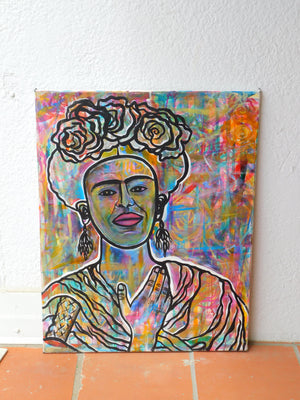 Frida's Colors Original Painting