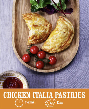 Chicken Italia Pastries