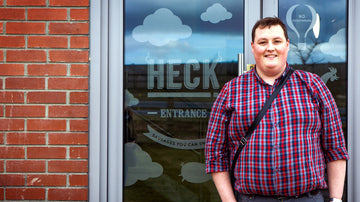 Meet HECK's newest team member Calum! See how he did on C4's The Job Interview.