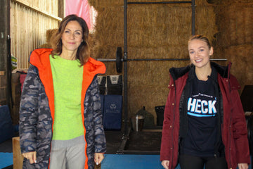 Julia Bradbury & HECK's Mica Check Out The Factory's Outdoor Gym