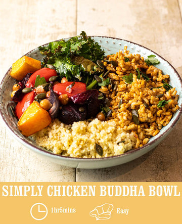 Simply Chicken Buddha Bowl
