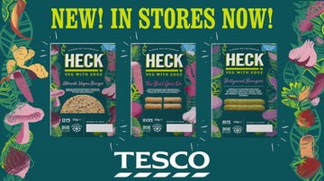 Exclusively In Tesco Stores! Three BRAND NEW Flavours Join The HECK Frozen Veg Range