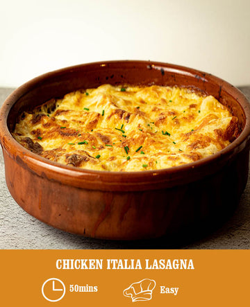 Chicken Italia Lasagna