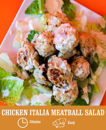 Chicken Italia Meatball Salad