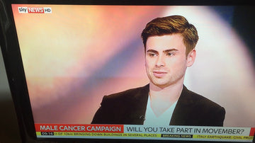 HECK's Jamie takes to Sky News for Movember