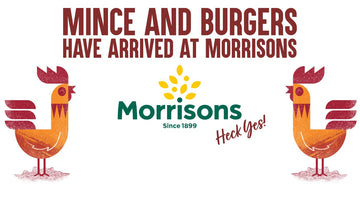 New! In Morrisons! Chicken Mince & Chicken Burgers Hit the UK's Stores!