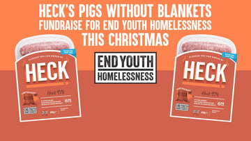 HECK's Pigs Without Blankets Fundraise For End Youth Homelessness This Christmas