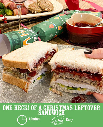 One Heck! of a Christmas Leftover Sandwich