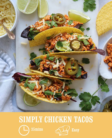 Simply Chicken Tacos