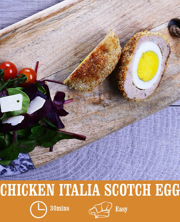 Chicken Italia Scotch Eggs