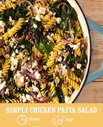 Simply Chicken Pasta Salad