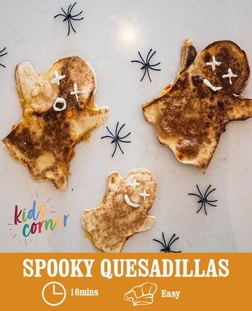 Spooky Quesadillas