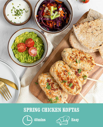 Spring Chicken Koftas