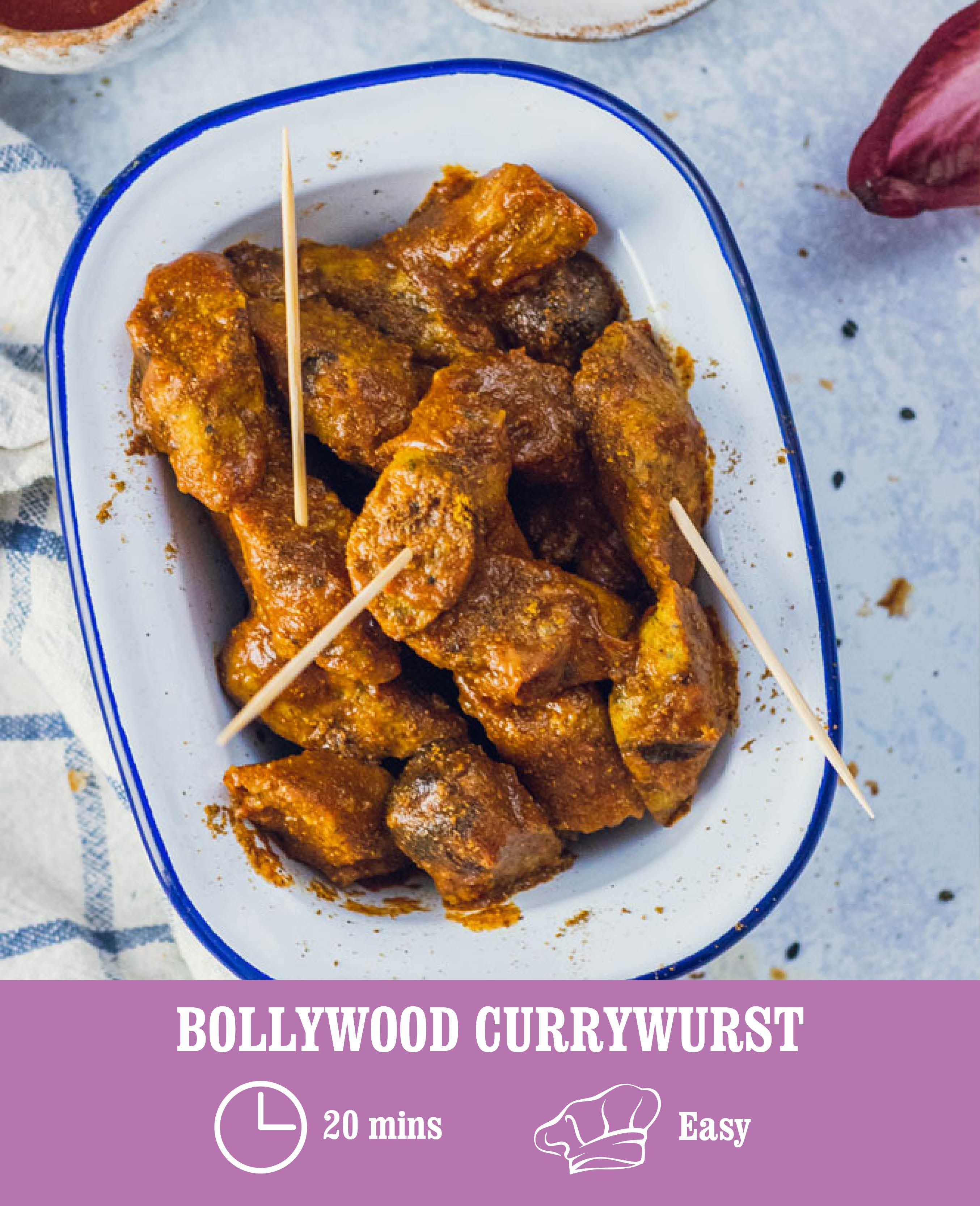 Bollywood Currywurst