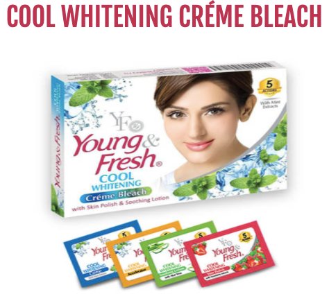 COOL WHITENING CRÉME BLEACH (Sachet)
