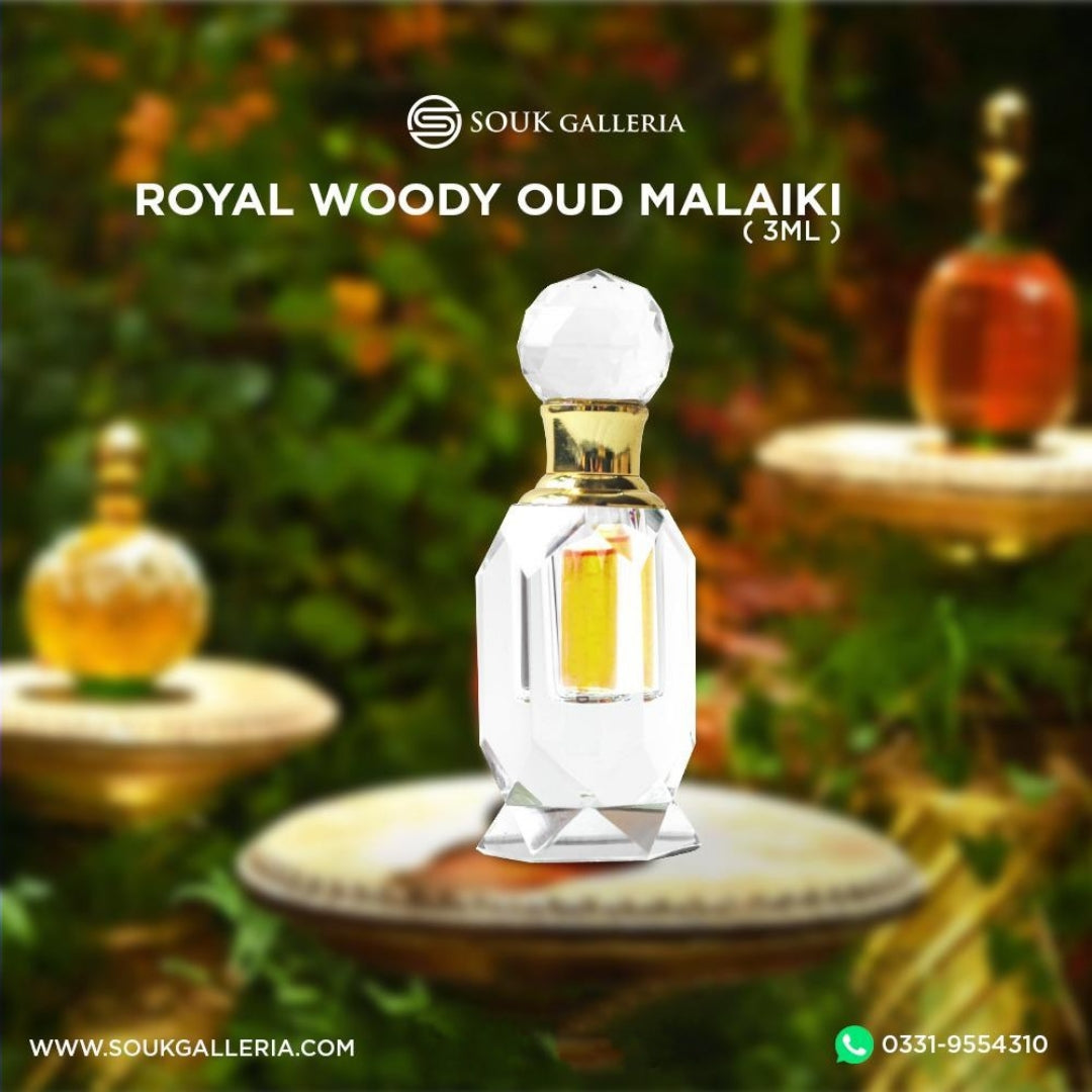 ROYAL WOODY OUD MALAIKI KSA 🇸🇦
