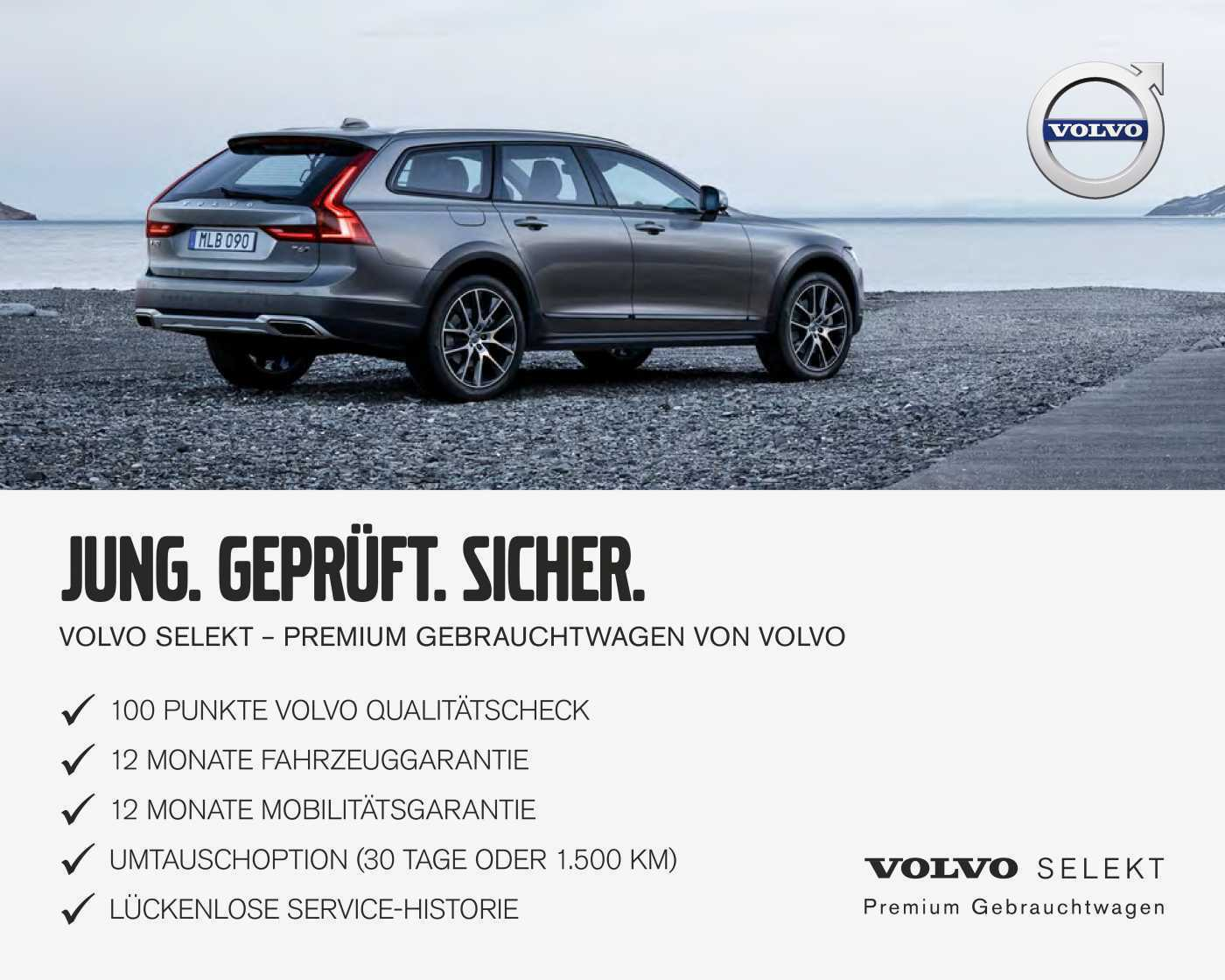 VOLVO - V90 Cross Country D4 AWD Geartronic ACC/Navi/18'