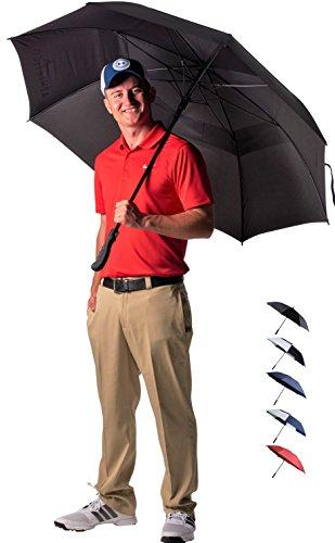 Athletico 62/68 Inch Automatic Open Golf Umbrella - Athletico