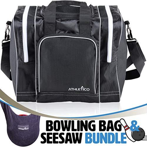 Athletico Bowling Bag & Seesaw Polisher Bundle - Athletico