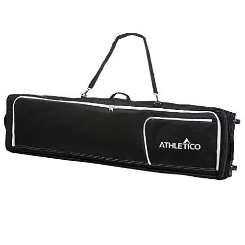 Athletico Conquest Padded Snowboard Bag with Wheels - Athletico