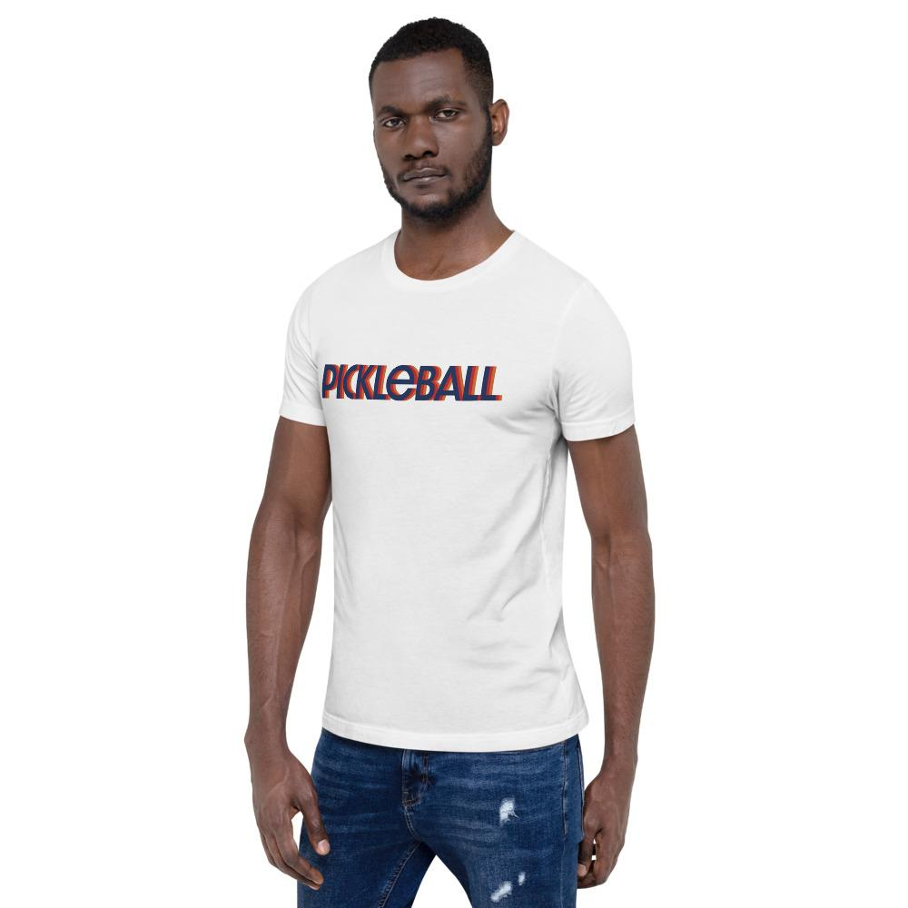 Pickleball Graphic Short-Sleeve Unisex T-Shirt - Athletico