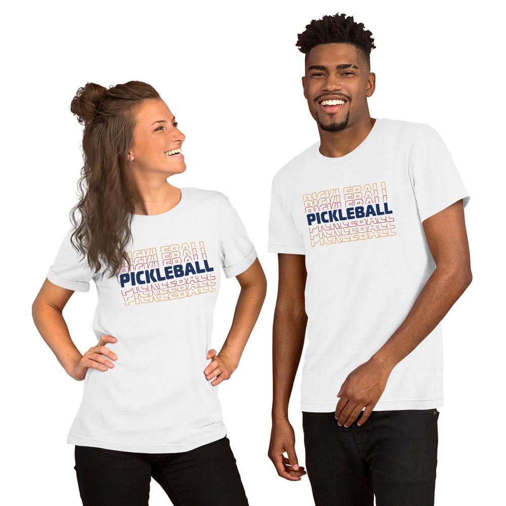 Pickleball Retro Short-Sleeve Unisex T-Shirt - Athletico