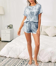 Tie Dye Crew Neck Lounge Set
