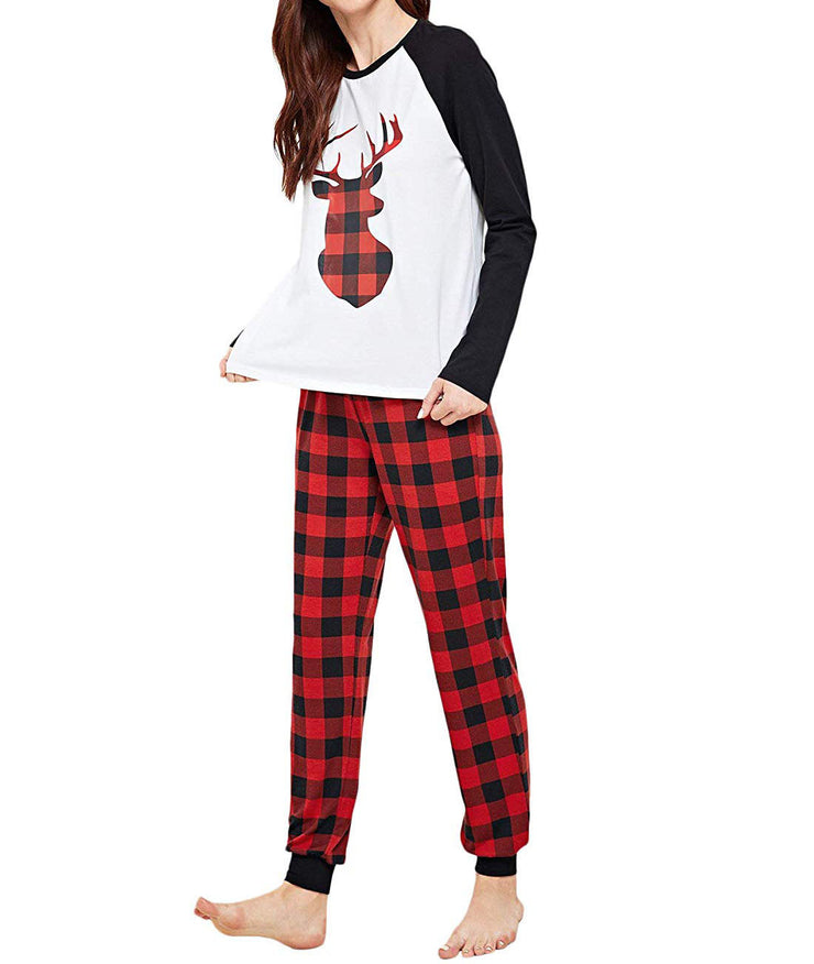 Elk Pajamas Set For Woman
