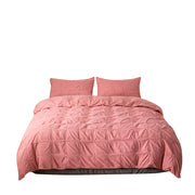 Painted Square Plain Solid Bed Linens Morden Bedding Set