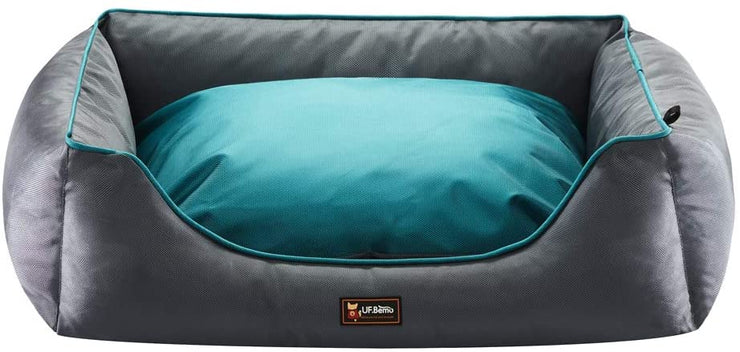 Orthopedic Large Dog Bed Lounge Sofa Removable Cover 100% Waterproof
